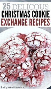 Are you ready for Christmas cookies? Try one of these 25 christmas cookie exchange recipes this year. You will love one of these Holiday cookies.