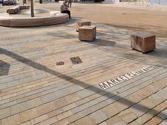 Marshalls Moselden & Scoutmoor Yorkstones @ Brentford Market Place