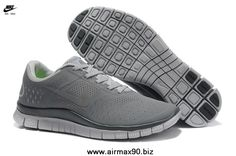 size 40 dfc5a 3f55f 511472-002 Mens Nike Free 4.0 V2 Cool Grey Dark Grey Grey Shoes, Women s
