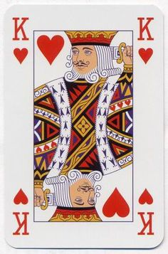 Playing Cards Art, Vintage Playing Cards, King Of Hearts, Cushion Covers, Ephemera, Crafts To Make, Party Themes, Deck, Noroc