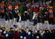 First Ever Olympic Refugee Team Gets Huge Heart-Warming Cheer At Rio Opening Ceremony