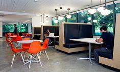 Interiors of Microsoft's Building