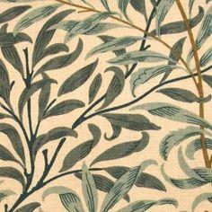 Gardintyg till sovrummet! William Morris Willow Boughs Tyg