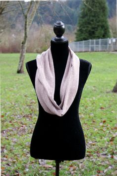 Homespun Eternal Scarf. Vital Outburst RTW Fall/Winter 2013 Collection by Aimée Wells. Free shipping & free gift wrapping on all orders: www.vitaloutburst.com #soft #brown #ivory #knit #vegan #handmade #fashion #Portland #Oregon #infinity #layers #organic #local #designer #teens #women #girls #sale #giveaway #facebook #eco-friendly #line #gift #functional #circle #accessory #cozy #quality #fun #warm #heather #yarn #kids