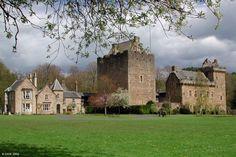 I'd love to visit my ancestral castle, Dean Castle in Kilmarnock, Scotland.