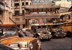 Manila Jeepneys leaving Chinatown Pretty Landscapes, Jeepney, Uk Visa, Exotic Beaches, Enjoying The Sun, Urban Life, Public Transport, Manila, Asia Travel