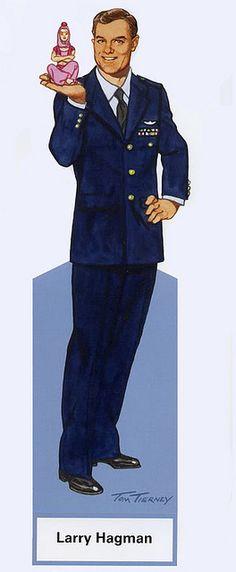 Larry Hagman as Major Nelson - I Dream of Jeannie by Tom Tierney, by trev2005, via Flickr