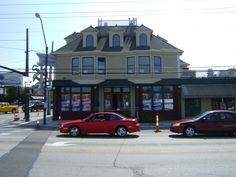 The Kamm's Building was built in 1875 by Oswald Kamm to serve as a general store and later the neighborhood post office. Located on the southwest corner of Rocky River Drive and Lorain Avenue.