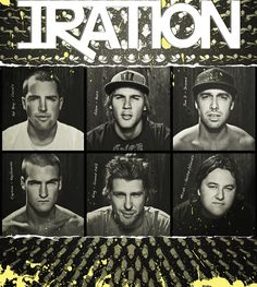Iration. Me and Anisa will be hanging out with these dudes tonight!