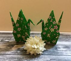 """Origami Cranes - 6"""" Paper - 25 pack by PetitePairs on Etsy https://www.etsy.com/listing/261758283/origami-cranes-6-paper-25-pack"""