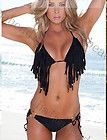 1 Set NEW Sexy Lady Women Bikini Top Set Fringed Bra Tassels Swimwear Swimsuit $13.93