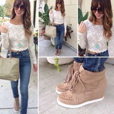 Love the sneaker wedges don't know where to find them