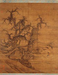 五代-李成-王晓-读碑窠石图-大阪美术馆 by China Online Museum - Chinese Art Galleries, via Flickr