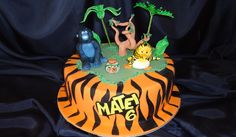 The Jungle Bunch Birthday Cake
