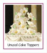 Wedding Cakes I; Dozens of pictures - square, round, oval, tiered, fountain & more. 100's of flower pics - bouquets, corsages, bouts, & centerpieces. Easy flower tutorials.