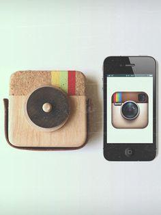 Wooden Instagram toy!