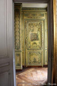 La Parigi di Maria Antonietta: Versailles Secret Parte 2: Appartamenti Privati di Maria Antonietta, Cabinet des Poétes, Appartamenti di Madame de Tourzel e di Madame Royale.