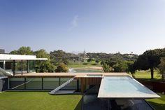 piscine architecturée