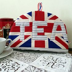 Union Jack Tea Cosy With Letters