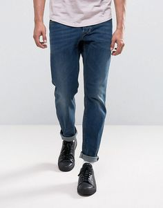 Diesel Larkee-Beex Tapered Jeans 084BU - Blue