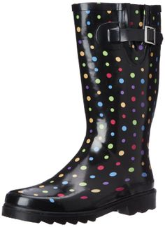 Amazon.com: Western Chief Women's Ditsy Dot Rain Boot: Shoes