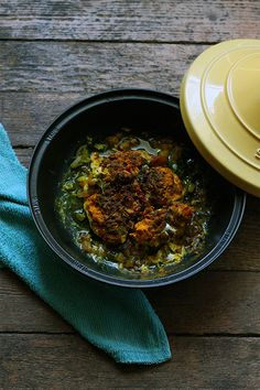 Moroccan Tagine - Chicken with preserved lemons