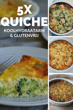 Low Carb Vegetarian Recipes, Low Carb Recipes, Healthy Recipes, Healthy Drinks, Healthy Cooking, Low Carb Quiche, Low Carb Keto, Food Hacks, Clean Eating