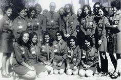 Афганские девушки - скауты, 1960-е годы