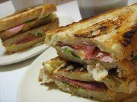 Tosta Mista (Ham & Cheese, Portuguese Style) #Potluck