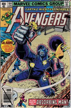 Avengers 1963 1st Series 184 June 1979 Issue  by ViewObscura, $2.00