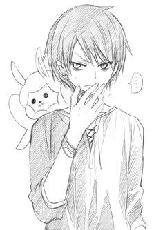 埋め込み Guy Drawing, Manga Drawing, Manga Art, Manga Anime, Anime Art, Anime Drawings Sketches, Anime Sketch, Cute Drawings, Kawaii Anime