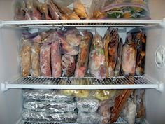 Freezer Meals tips. Lectura obligada, posts y link útiles.