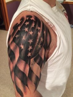 Second session is complete Sweet Tattoos, Badass Tattoos, Black Tattoos, Body Art Tattoos, Forarm Tattoos, Awesome Tattoos, Tribal Tattoos, Tatoos, American Flag