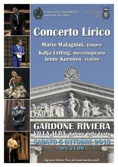 Gardone Riviera: il Concerto Lirico a Villa Alba #NewsGC