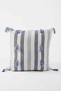 Magical Thinking Tassel-Stripe Pillow - Urban Outfitters