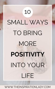 """I think that pretty much anyone could use a little bit more positivity in their lives. Even the smallest things you do can have a big impact on your positivity…"" Positive Mindset, Positive Vibes, Positive Living, Staying Positive, Positive Feelings, Success Mindset, Positive Attitude, Affirmations, Little Bit"