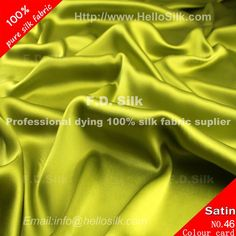 16mm silk charmeuse fabric-yellow green  http://www.silkfabricuk.com/16mm-silk-charmeuse-fabricyellow-green-p-231.html