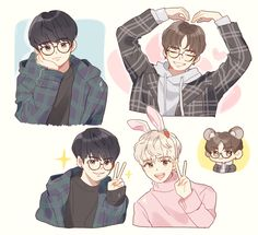 Ong - Daniel - Jihoon Exo Cartoon, Sweet Revenge, Daily Drawing, Kpop Fanart, Boy Art, Art Tips, Anime Guys, Anime Art, Idol