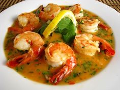 Thai Lemon Shrimp