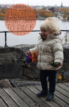 Toddler Travel Items You Might Forget To Pack | Sycamore Street Press