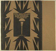 With graver and woodblock over American highways, 1930