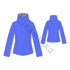 Выкройка стеганной демисезонной куртки