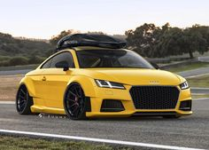 """""""So I'm gonna start trying to get better at actual renders. Here is my 2016 Concept Audi TT."""""""