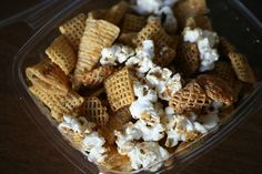 Furikake Chex Mix - Asian version of Chex Mix. Sweet and salty!