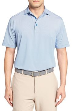 Peter Millar Jubilee Stripe Golf Polo. #petermillar #cloth #