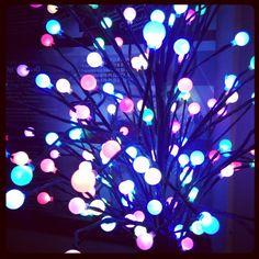 Une lampe sympa multicolore