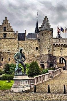 Antwerp castle, Belgium
