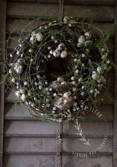 Willow Wreath, Twig Wreath, Door Wreaths, Easter Arts And Crafts, Cozy Christmas, Christmas Wreaths, Rustic Christmas, Easter Table, Avent