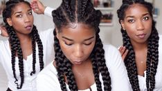 How To Ghana Cornrow Braids For Beginners | Clear Easy Steps - Feed In Method [Video] - http://community.blackhairinformation.com/video-gallery/braids-and-twists-videos/ghana-cornrow-braids-beginners-clear-easy-steps-feed-method-video/