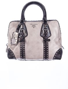 What a stud: Prada Boston Bag.